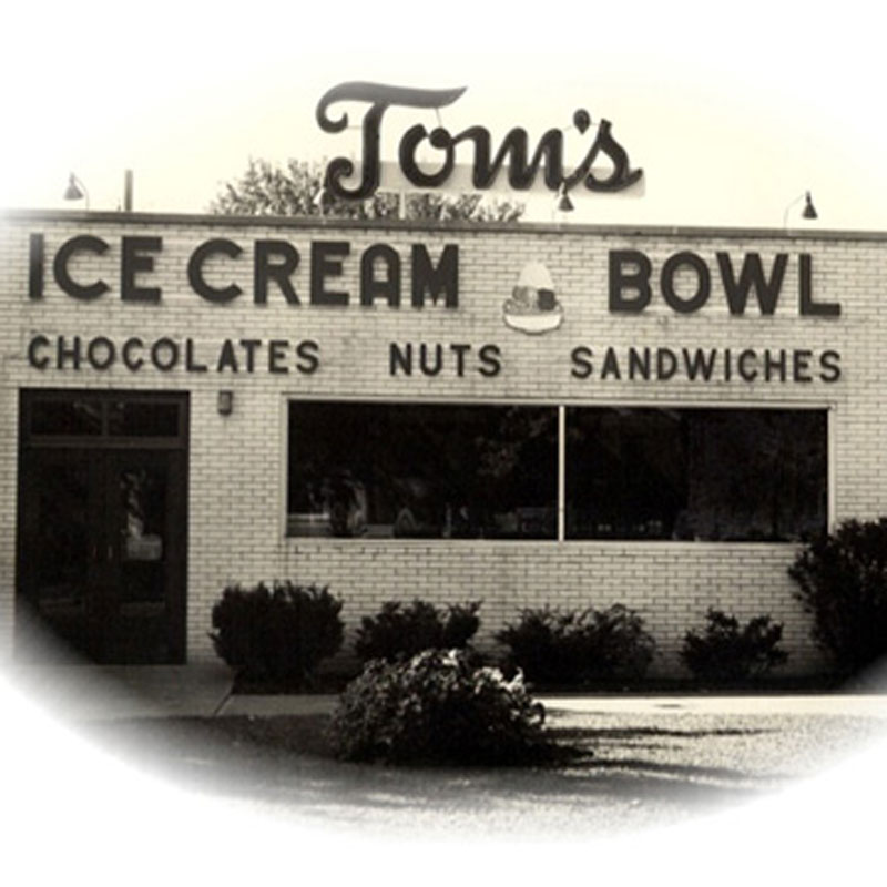 Toms Ice Cream Bowl - Shop